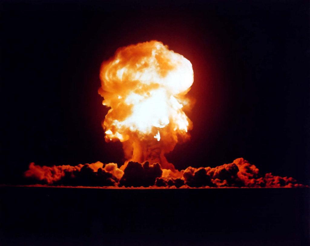 Test nucléaire US dans le Nevada en 1957