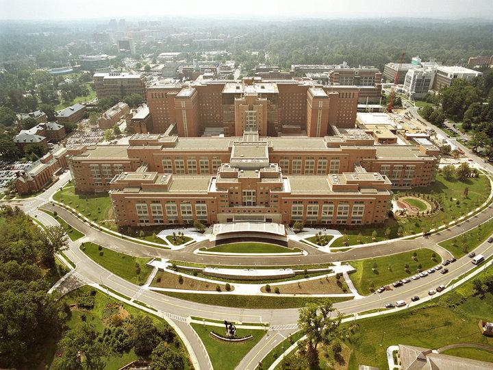 Le bâtiment principal des NIH