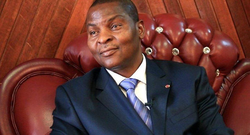 Faustin-Archange Touadéra, président centrafricain