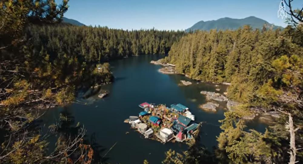 Paradis flottant au Canada