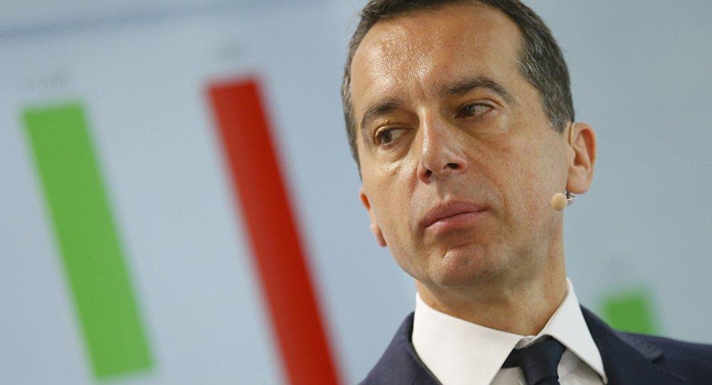 Christian Kern. L'Autriche appelle à revoir les sanctions antirusses «nuisibles» à l'UE