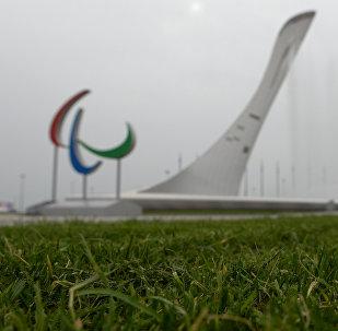 Logo des Jeux paralympiques à Sotchi