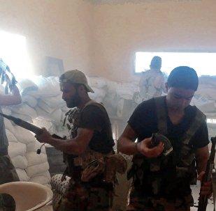 Une nuit avec des tireurs d'élite syriens
