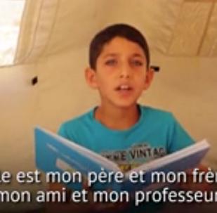 Ces enfants réfugiés syriens qui découvrent le métier de journaliste