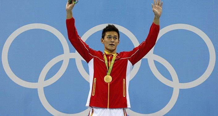 Champion olympique et nounou à ses heures
