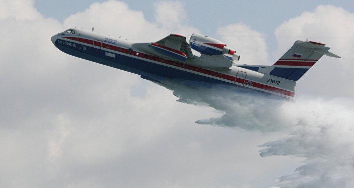 L'avion amphibie polyvalent Beriev Be-200