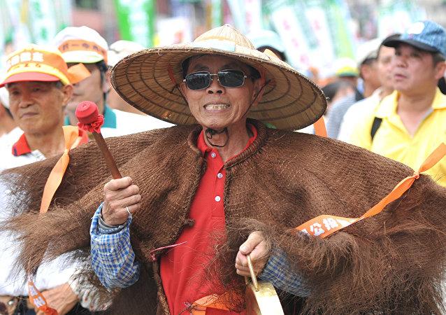 Un fermier chinois