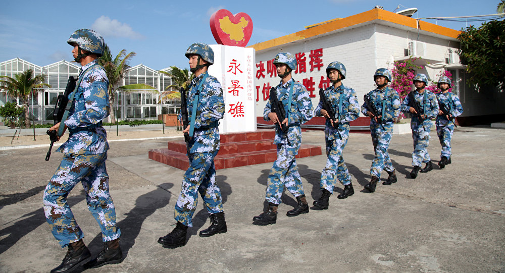 Les militaires chinois