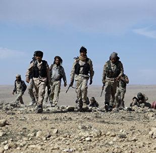 Combattants des Forces démocratiques syrienes. Photo d'archive