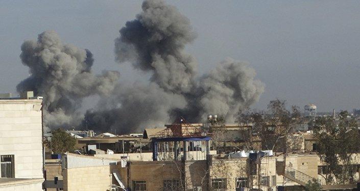 Bombardement de Ramadi par la coalition