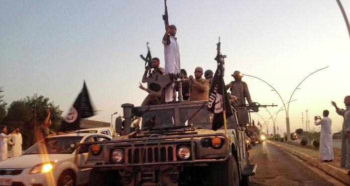 Terroristes de Daech à Mossoul