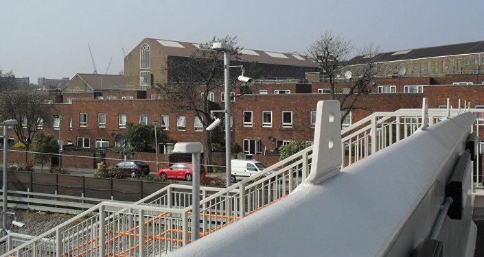 Prison de Pentonville, à Londres