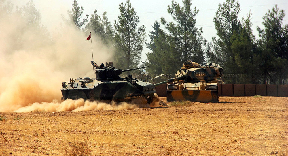 Les chars turcs