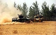 Les forces turques
