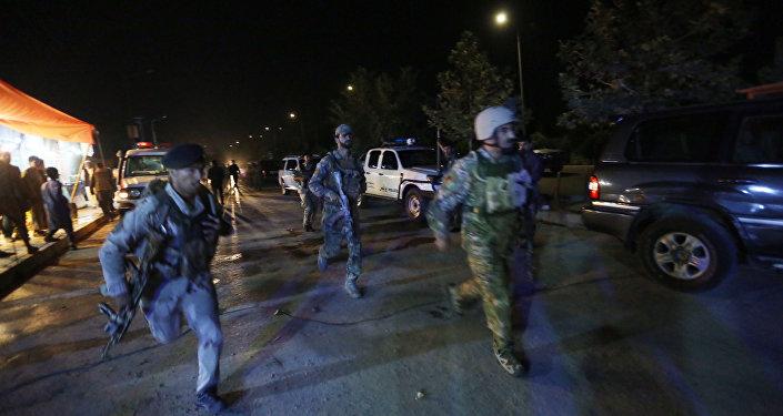 Attaque contre l'Université américaine d'Afghanistan à Kaboul