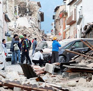Les conséquences du séisme en Italie