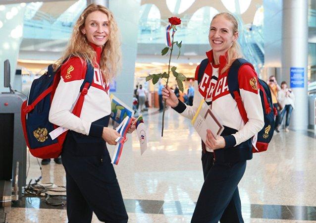 l'équipe olympique russe