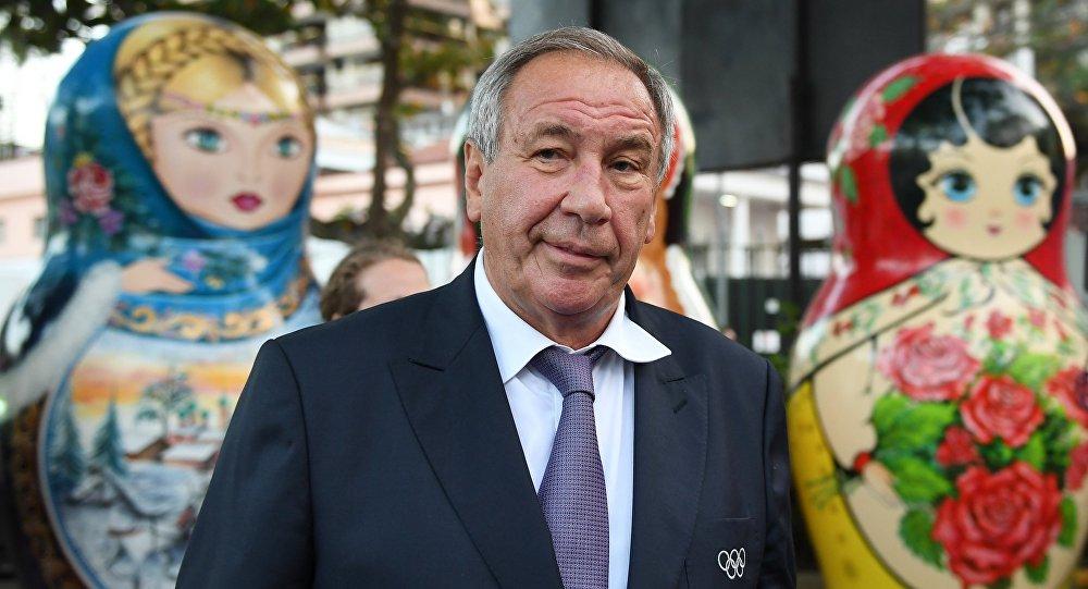 Le président de la Fédération russe de tennis et membre du CIO Chamil Tarpichtchev