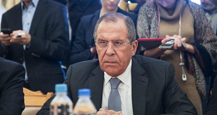 Le ministre russe des Affaires étrangères Sergueï Lavrov. Archive photo