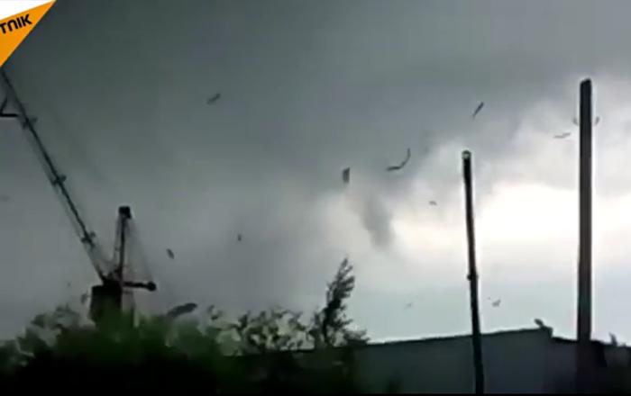 Une tornade à Syktykvkar