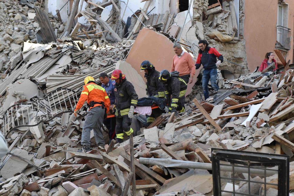 Un puissant tremblement de terre de magnitude 6,2 a secoué le centre de l'Italie dans la nuit du 23 au 24 août, faisant 247 morts et plus de 360 blessés