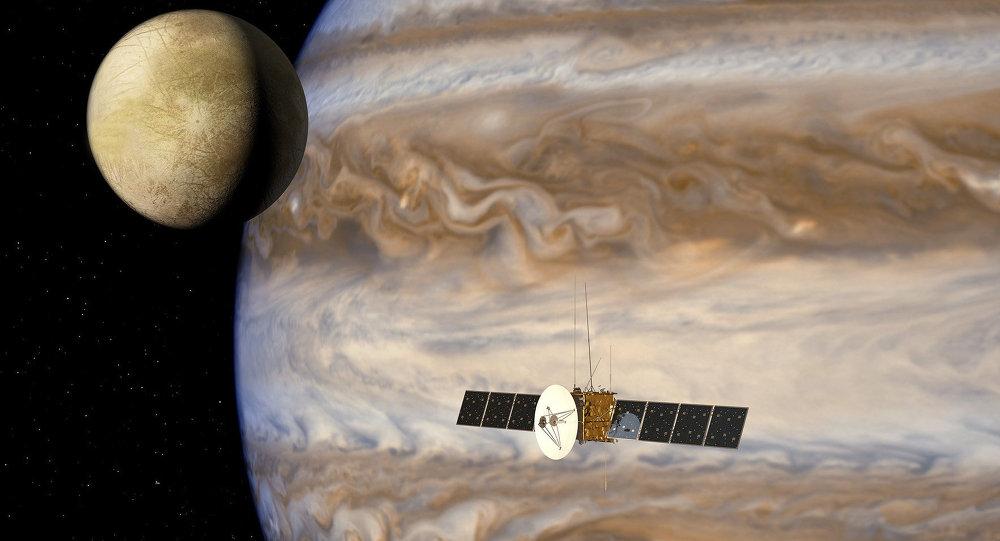 The JUpiter ICy moons Explorer mission, JUICE (Artist impression )