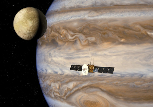 The JUpiter ICy moons Explorer mission, JUICE (Artist impression )