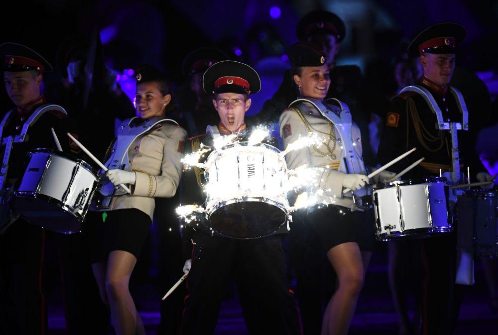 Le Festival Tour Spasskaïa: mélange de musique et de lumière