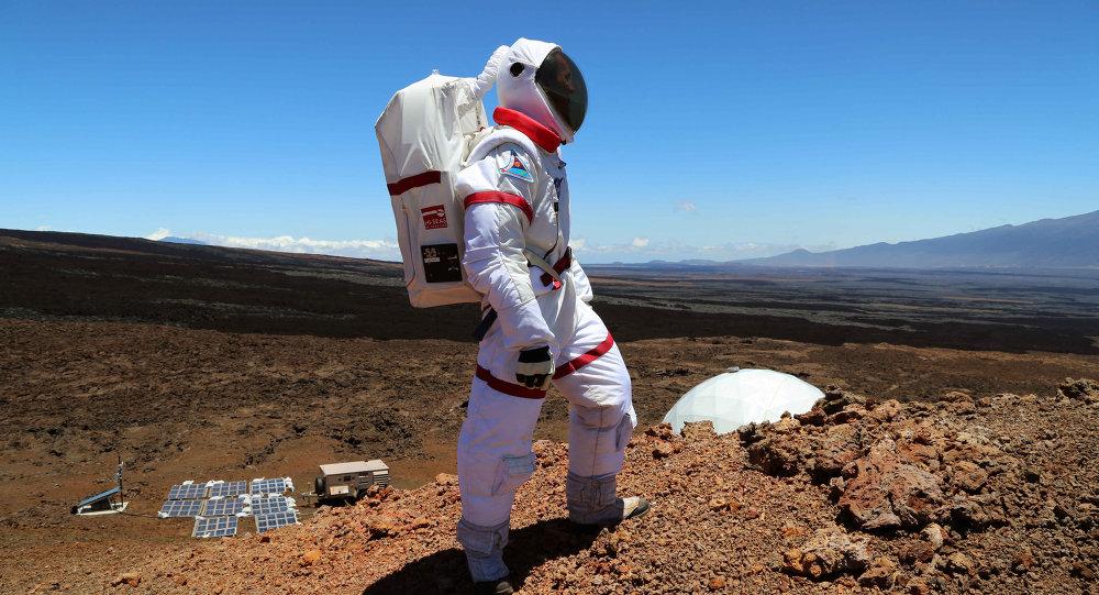 La base martienne à Mauna Loa, à Hawaï