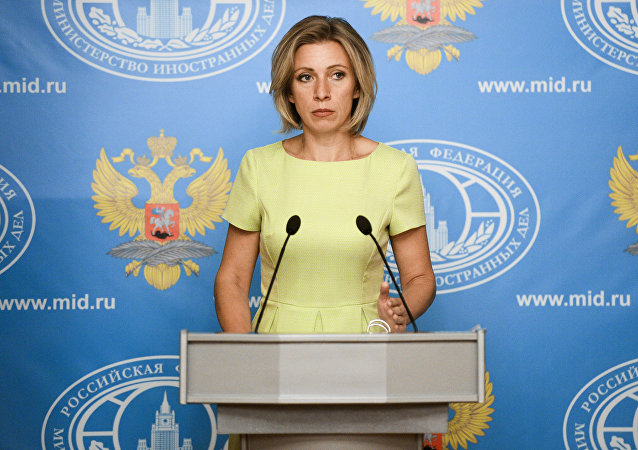 Porte-parole de la diplomatie russe, Maria Zakharova
