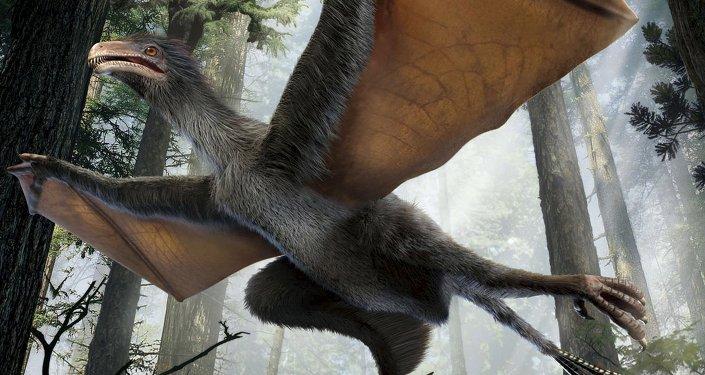 Un dinosaure volant