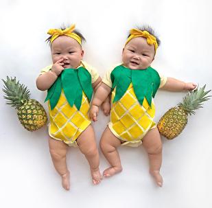 Leia et Lauren, les jumelles du Soleil!