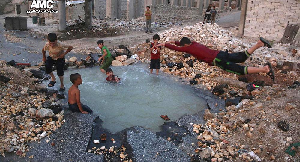 les enfants,Syrie