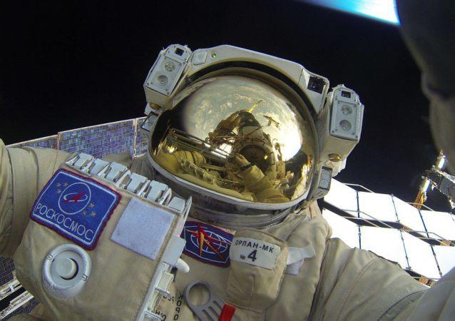 Un astronaute russe