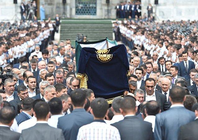 Obsèques d'Islam Karimov