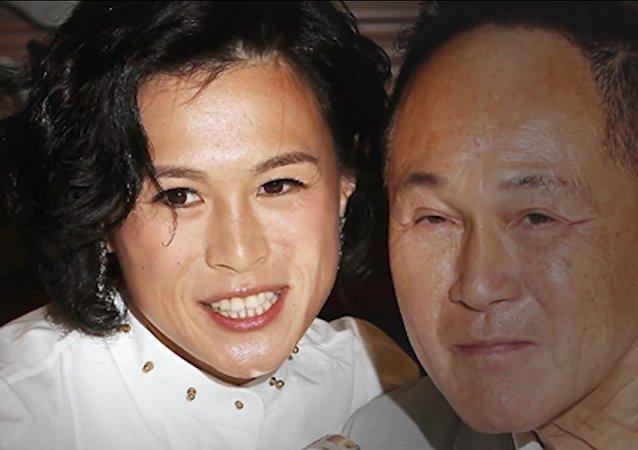 Gigi Chao et son père