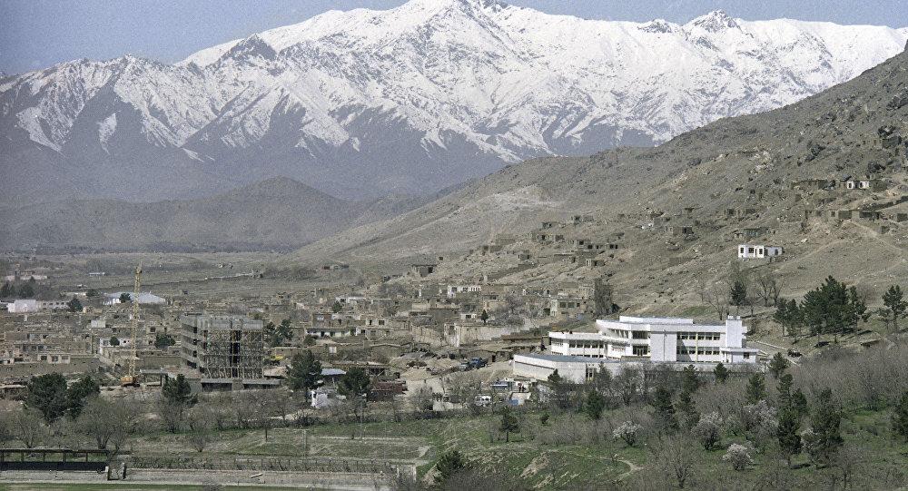 La panorama de Kaboul