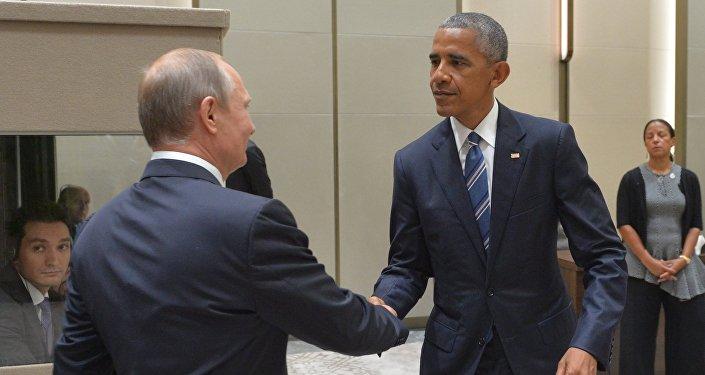 M.Obama et M.Poutine