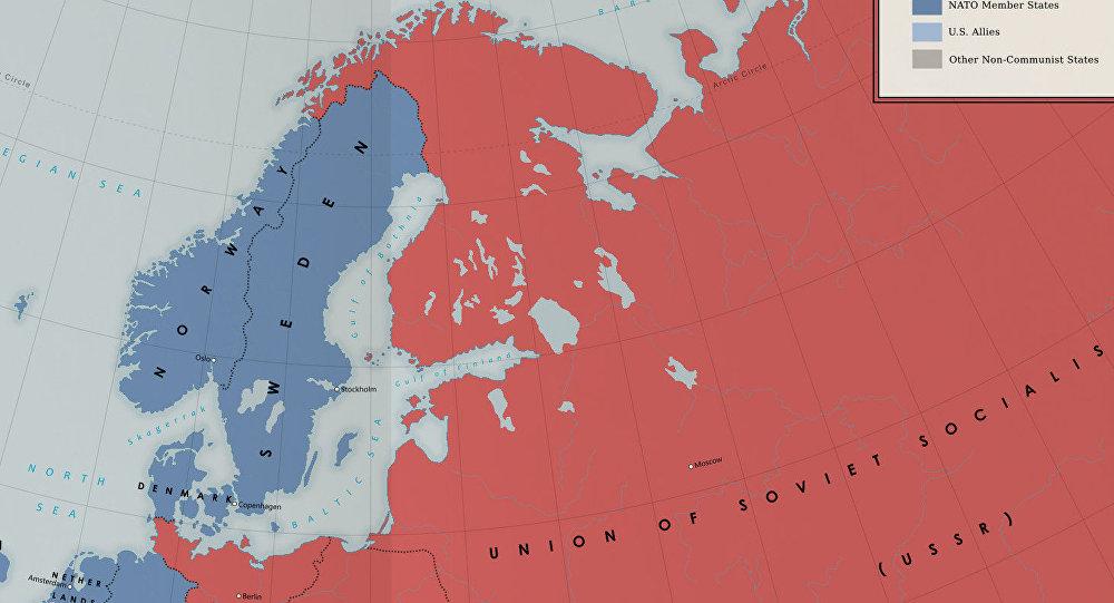 Carte Urss.Reecrire L Histoire Un Manuel Danois Inclue La Finlande Et La