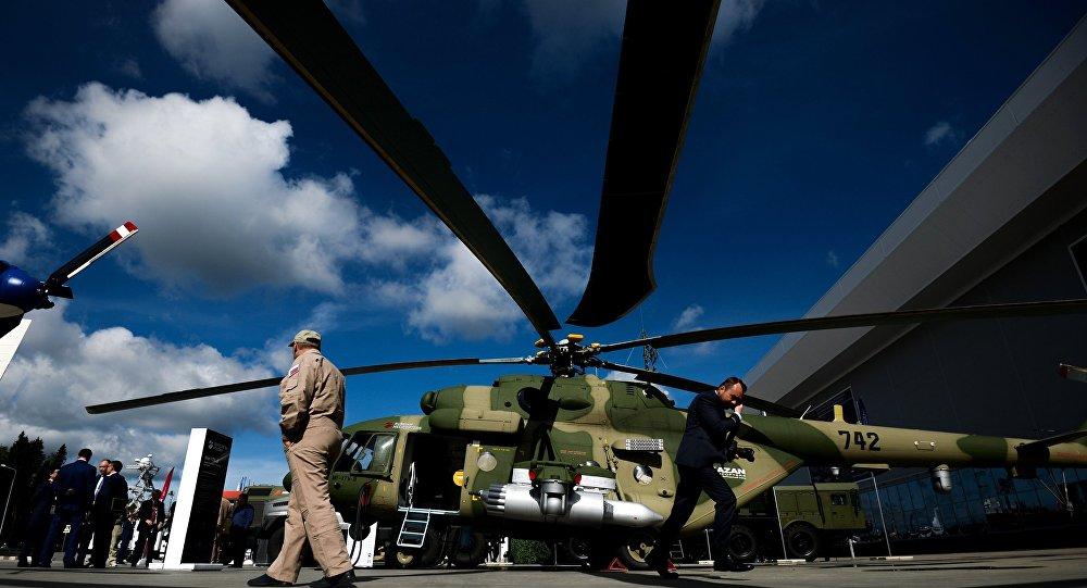 L'hélicoptère polyvalent russe Mi-17