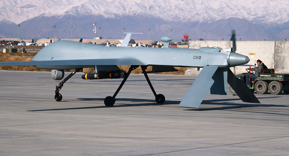 Un drone américain MQ-1 Predator