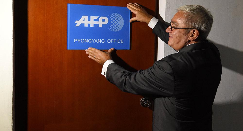 le bureau de l'Agence France-Presse à Pyongyang