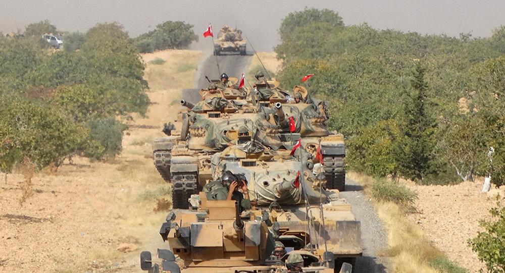 Des soldats turcs en Syrie