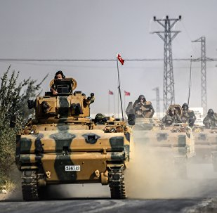 L'armée turque à la frontière syrienne