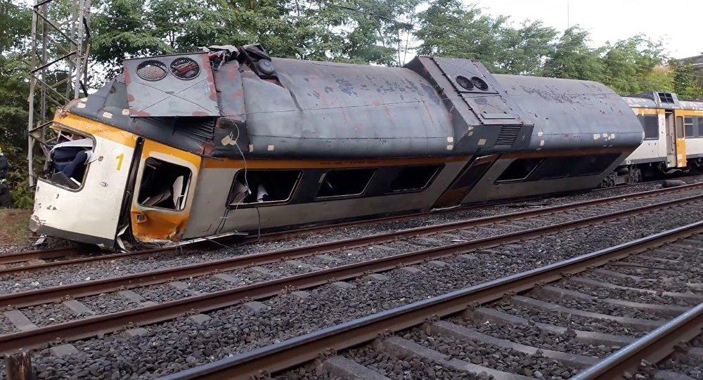 Un train déraille en Espagne