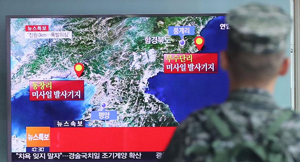L'essai nucléaire nord-coréen