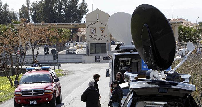 La base aérienne de Sigonella