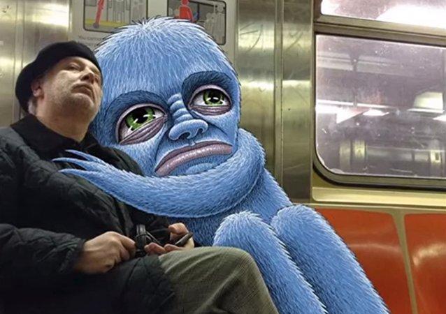 Quand les monstres débarquent dans le métro