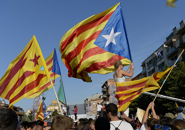 million de Catalans ont pris part à des manifestations