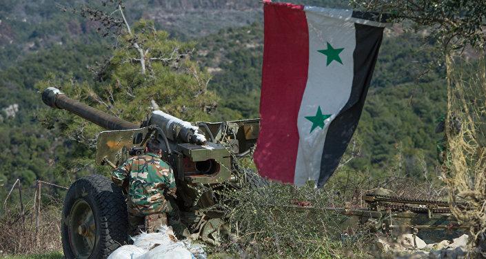 Positions de l'armée syrienne à Idlib